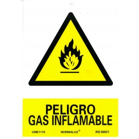 Gas inflamable