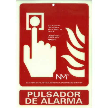 Pulsador de Alarma