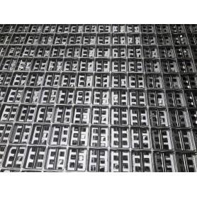 Rejilla Tramex Inox. 316 con malla seguridad plancha 2.000x1.000 mm (malla 35x35x30x3)