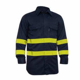 Camisa Ignífuga de protección Alta Visibilidad (ALGODÓN).