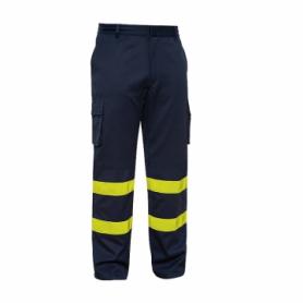 Pantalón ignífugo de protección alta visibilidad (ALGODÓN).